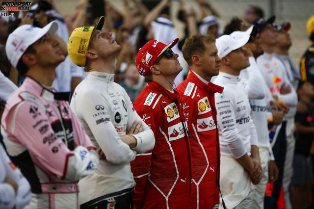 20 Fahrer, ein Ranking: Wer ist der Kleinste im Formel-1-Fahrerlager, wer ist der Größte? Unsere Fotostrecke gibt Aufschluss über die Körpergröße der Grand-Prix-Piloten 2019!