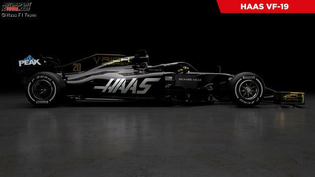 Haas hat als erstes Formel-1-Team 2019 den Lack seines neuen Autos gezeigt. Klicken Sie sich durch, um zu sehen, was in den Präsentationen von 2019 bisher geschehen ist!
