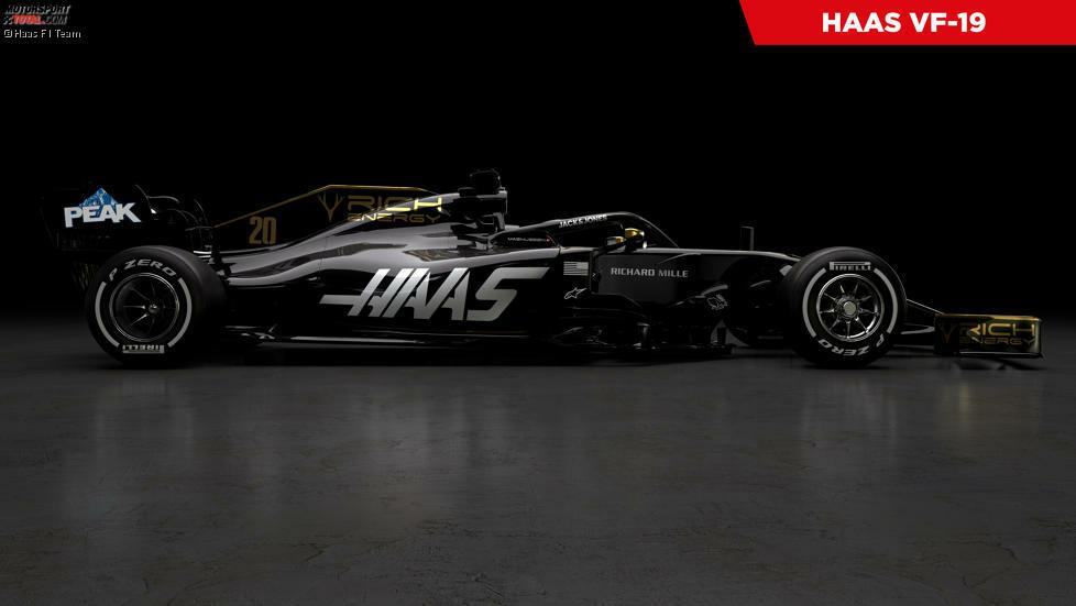 Haas hat als erstes Formel-1-Team 2019 die Lackierung seines neuen Boliden gezeigt. Klick dich durch, was es bei den Präsentationen 2019 bislang zu sehen gab!