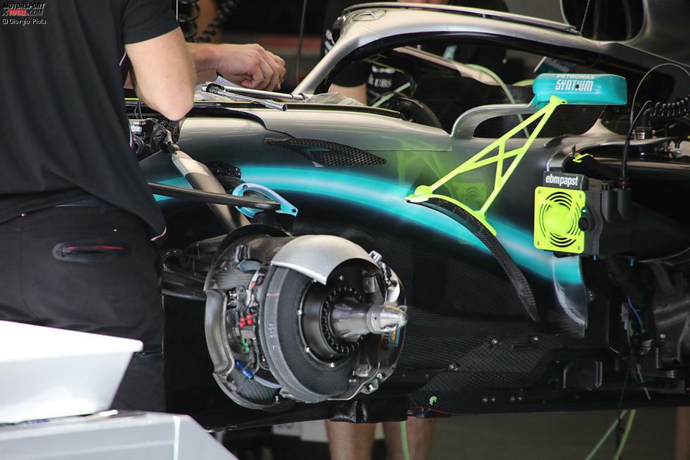 Die Technikdetails vom zweiten Saisonrennen der Formel 1: Hier sind die Nahaufnahmen aus der Boxengasse in Bahrain!