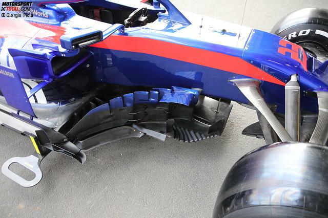 Toro Rosso STR14: Windabweiser