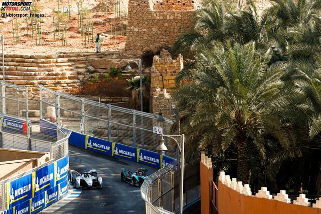 Riyadh Street Circuit (Riad, Saudi-Arabien) - Bisherige Sieger: 2018 - Antonio Felix da Costa (BMW i Andretti)