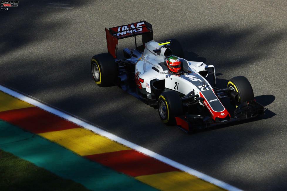 2016: Haas-Ferrari VF-16 - Fahrer: Romain Grosjean/Esteban Gutierrez