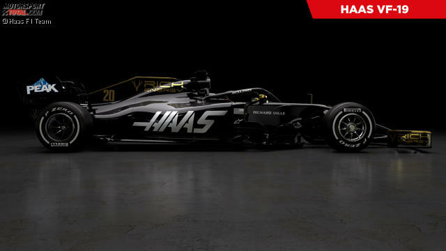 Präsentation Haas VF-19