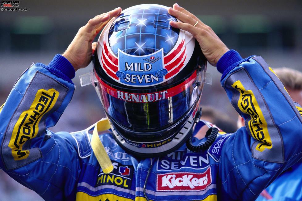 Helme, die Geschichte schrieben: Unsere Redaktion hat die legendärsten Helmdesigns der Formel-1-Historie gewählt und hier präsentieren wir unsere Top 10!