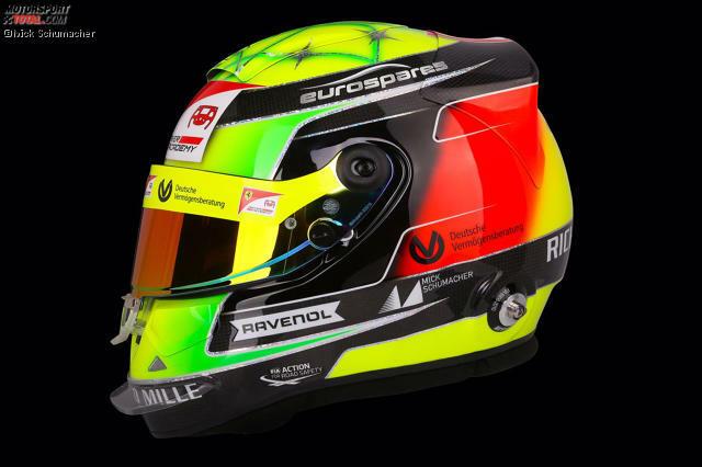 Helm von Mick Schumacher