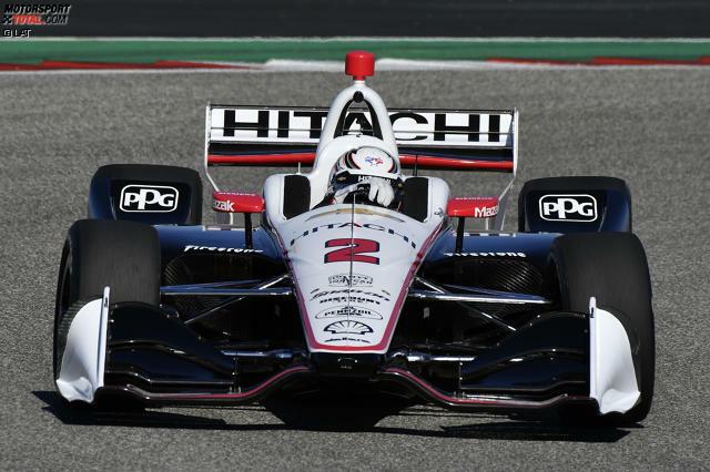 #2: Josef Newgarden (Penske-Chevrolet) - IndyCar-Champion 2017