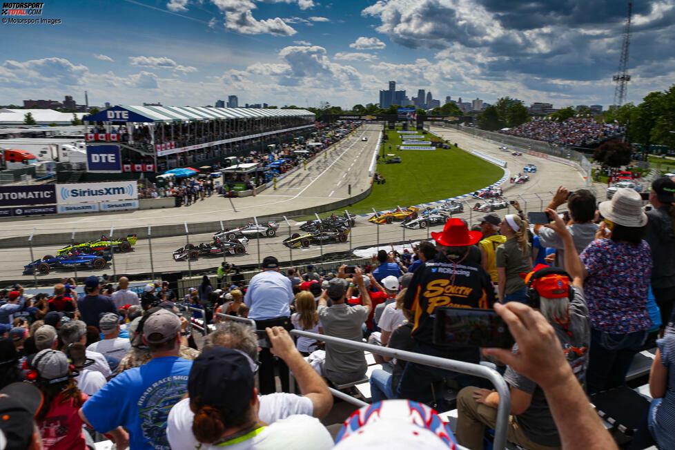 #10: The Raceway at Belle Isle (Detroit): 114,831 mph