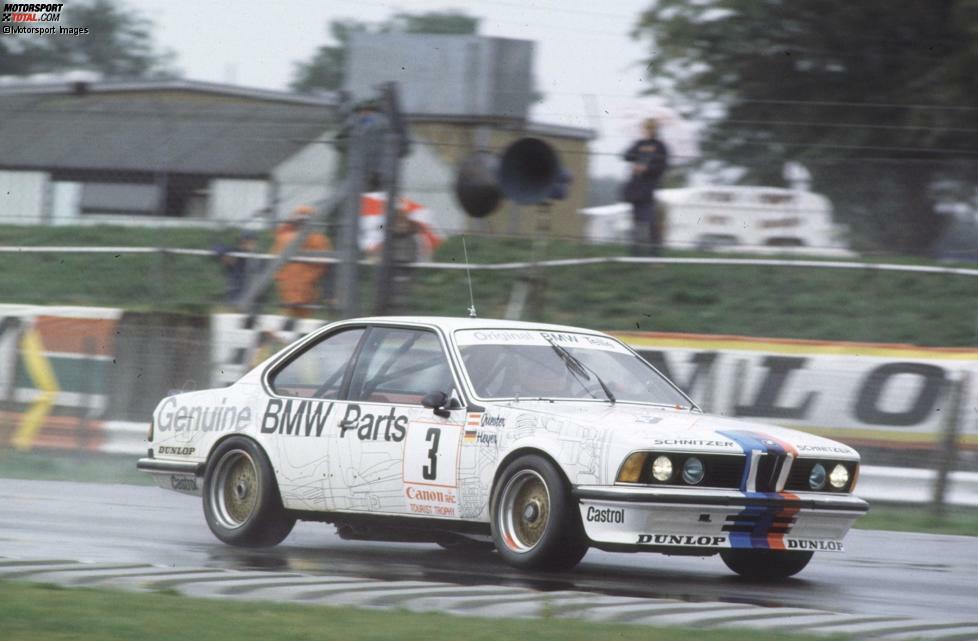 In den 1980er-Jahren steigt Schnitzer zum dominanten Tourenwagen-Team auf. Den Anfang macht Dieter Quester, der 1983 auf einem BMW 635 CSi den Europameisterschaftstitel holt.