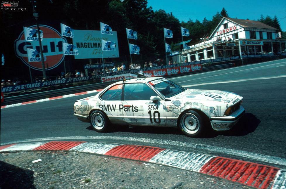 1985 triumphiert Schnitzer das erste mal bei den 24 Stunden von Spa-Francorchamps mit Roberto Ravaglia, Marc Surer und Gerhard Berger.