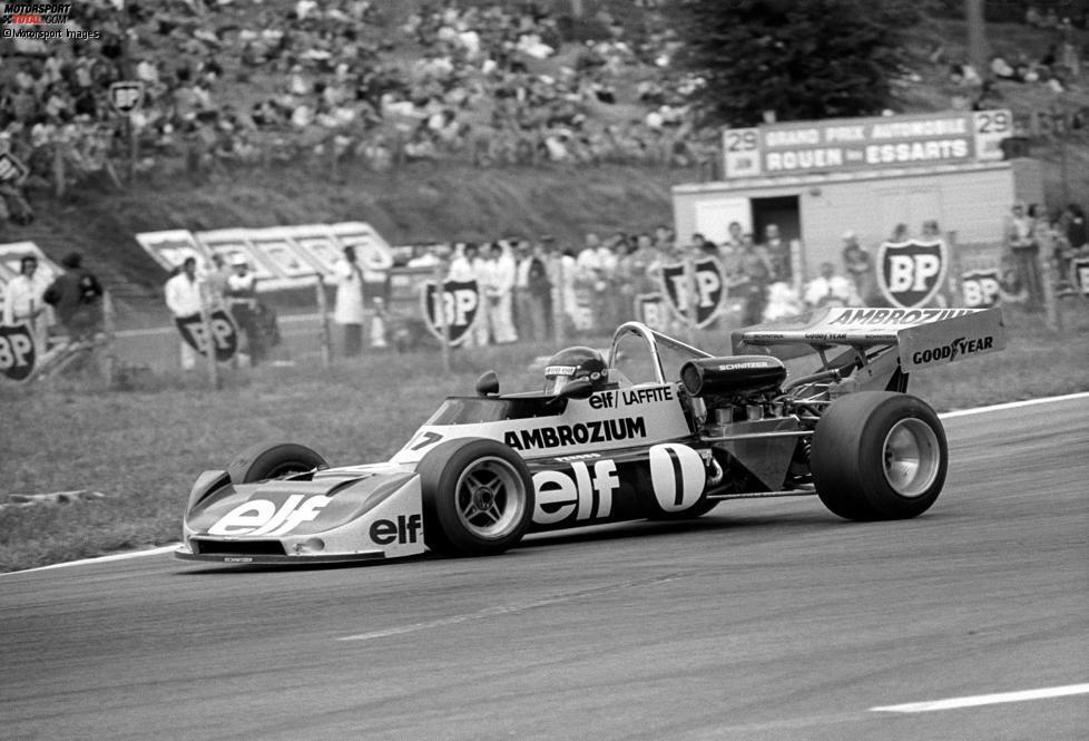 Den ersten großen internationalen Titelgewinn, den Lamm miterleben durfte, erringt Schnitzer nicht als Team, sondern als Motorenlieferant: Jacques Laffite holt 1975 auf einem Martini Mk.16 mit BMW-Schnitzer-Motor den Titel in der Formel 2.