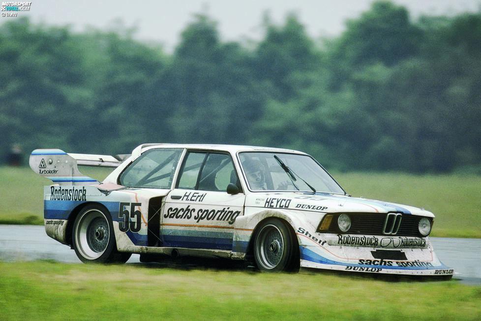 1978 gewinnt Harald Ertl die Deutsche Rennsport Meisterschaft (DRM) und ist damit erster Titelträger mit einem Turbo-Fahrzeug, doch zum Feiern steht es Schnitzer nicht: Teamgründer Josef Schnitzer verstirbt im selben Jahr bei einem unverschuldeten Verkehrsunfall auf dem Weg nach Zolder.