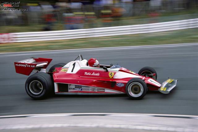 Von March über BRM zu Ferrari, Brabham und McLaren: Hier sind alle Formel-1-Autos aus der erfolgreichen Karriere von Niki Lauda!