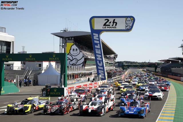 62 Autos, verteilt auf die vier Klassen LMP1, LMP2, GTE-Pro und GTE-Am, treten am 15./16. Juni 2019 bei der 87. Auflage der 24 Stunden von Le Mans an. Unsere Fotostrecke zeigt, wie sie im Detail aussehen und wer die Fahrer sind: