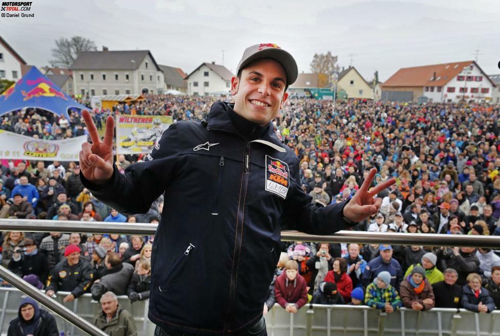 2012: Sandro Cortese (KTM) vor Luis Salom (Kalex-KTM) und Maverick Vinales (FTR-Honda)