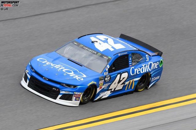 1. Kyle Larson (Ganassi-Chevrolet) - für
