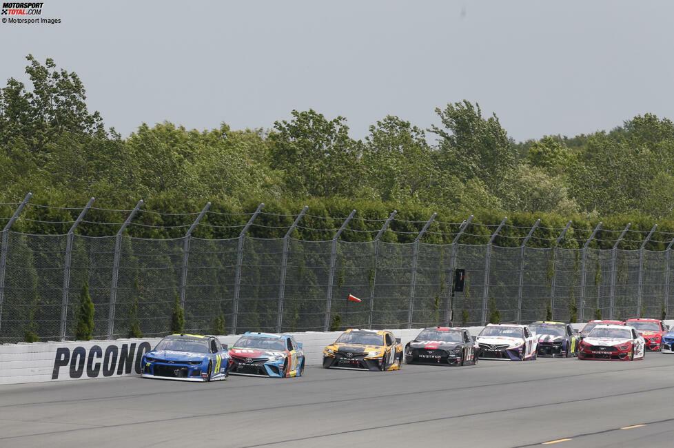 #10: Pocono Raceway (2,5 Meilen) - 183,438 mph