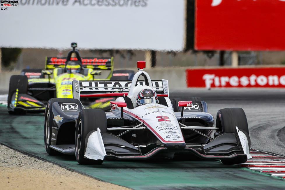 Ein achter Platz beim Saisonfinale reichte aus, um seine Widersacher Alexander Rossi (Andretti-Honda), Simon Pagenaud (Penske-Chevrolet) und Scott Dixon (Ganassi-Honda) in der Punktetabelle hinter sich zu halten.