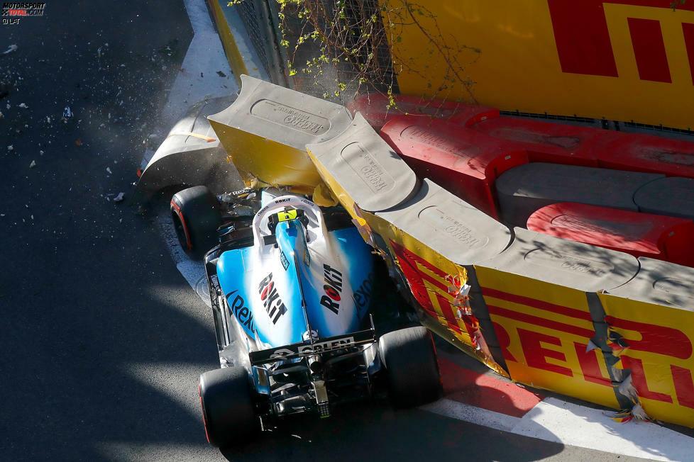 Robert Kubica (5): Wie auch schon in China das Schlusslicht in unserer Rangliste. Crash im Qualifying, dazu das Auto im Rennen gleich in der ersten Kurve fast schon wieder in die Mauer gesetzt. Das mag alles auch am schwer zu fahrenden Williams liegen - aber sein Teamkollege bekommt es schließlich auch besser hin ...