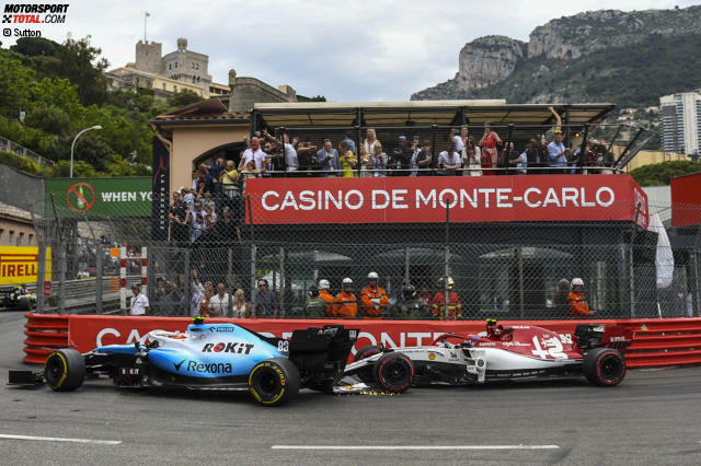 Antonio Giovinazzi (5): Es ist nicht so, dass einem so ein Patzer wie in der Rascasse gegen Kubica nicht mal passieren kann. Das Problem ist: Giovinazzi passieren solche Dinge und er ist gleichzeitig zu langsam. Ferrari, hören wir, möchte ihn als Simulatorfahrer zurück. Das wäre ein sicherer Job. Das Zeug zum Weltmeister hat er eh nicht.