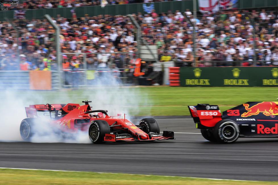 Sebastian Vettel (5): Im Qualifying sechs Zehntel auf Leclerc, das ist zu viel für einen, der Weltmeister werden wollte. Die Kollision mit Verstappen konnte jeder sehen - darüber gibt's keine zwei Meinungen. 2019 ist einfach nicht sein Jahr.