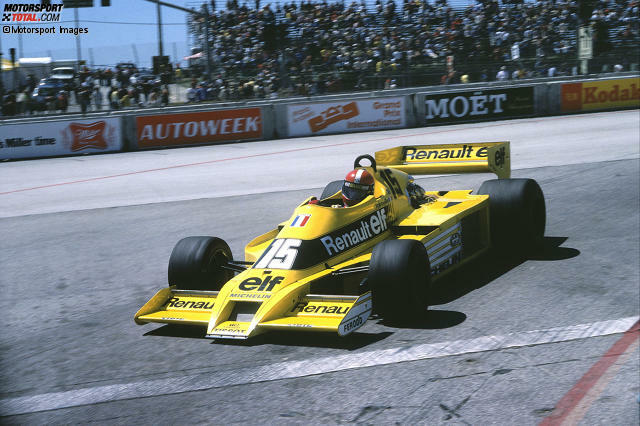 1978: Renault RS01 - Fahrer: Jean-Pierre Jaboullie