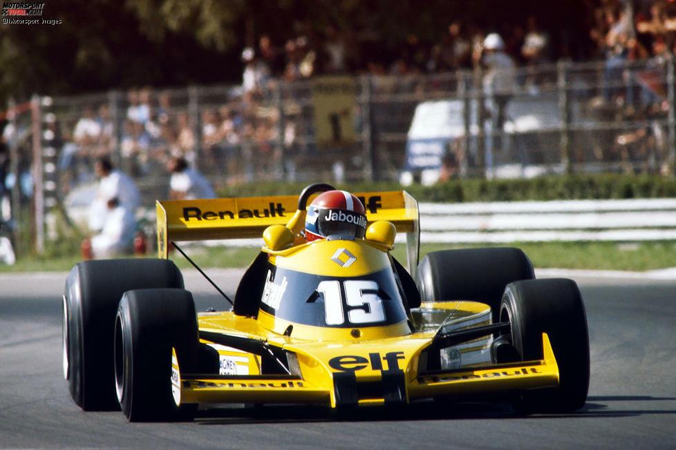 1977: Renault RS01 - Fahrer: Jean-Pierre Jabouille