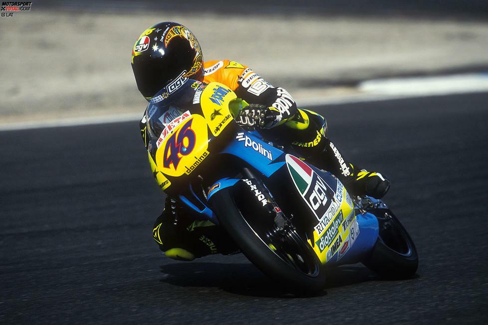 1996: Aprilia RS125 - Bilanz: 15 Rennen, 1 Sieg, 1 Pole, WM-Rang 9
