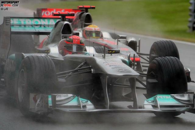 Lewis Hamilton ist bereits der Pilot mit den meisten Meisterschaftspunkten und den meisten Polepositionen in der Geschichte der Formel 1. Michael Schumacher hält immer noch viele der besten Rekorde - immer noch . Denn in einigen Bereichen könnte Hamilton Schumi in den kommenden Jahren die Nase vorn haben ...