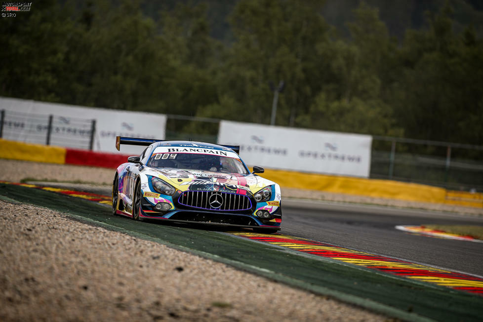 1. Black-Falcon-Mercedes #4 (Engel/Buurman/Stolz) - 2:18.588 (Superpole)