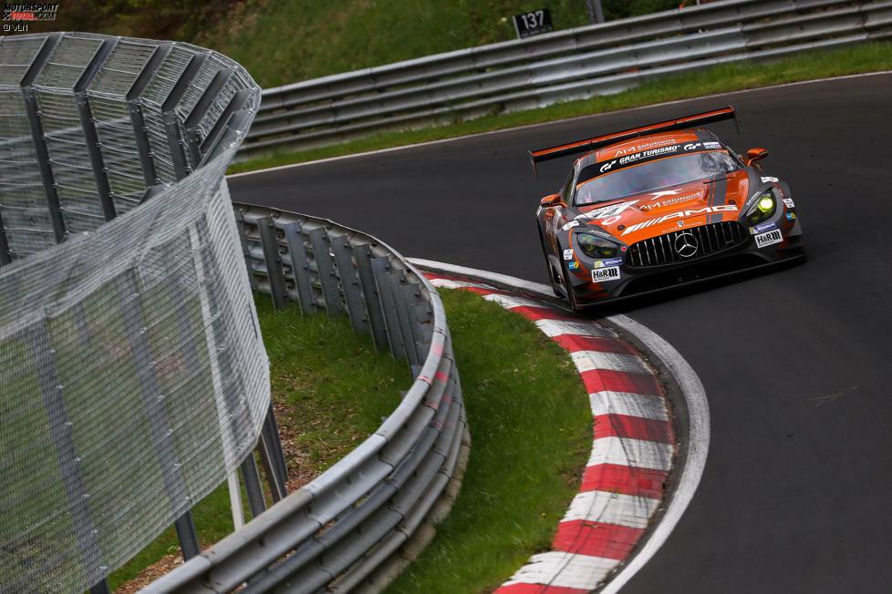 1. Black Falcon #2 - Maro Engel - Mercedes-AMG GT3