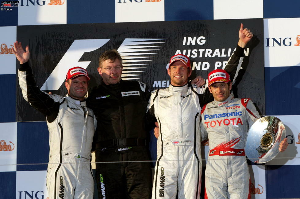#10 - Jenson Button und Rubens Barrichello (Honda/Brawn, 2006-2009): 70