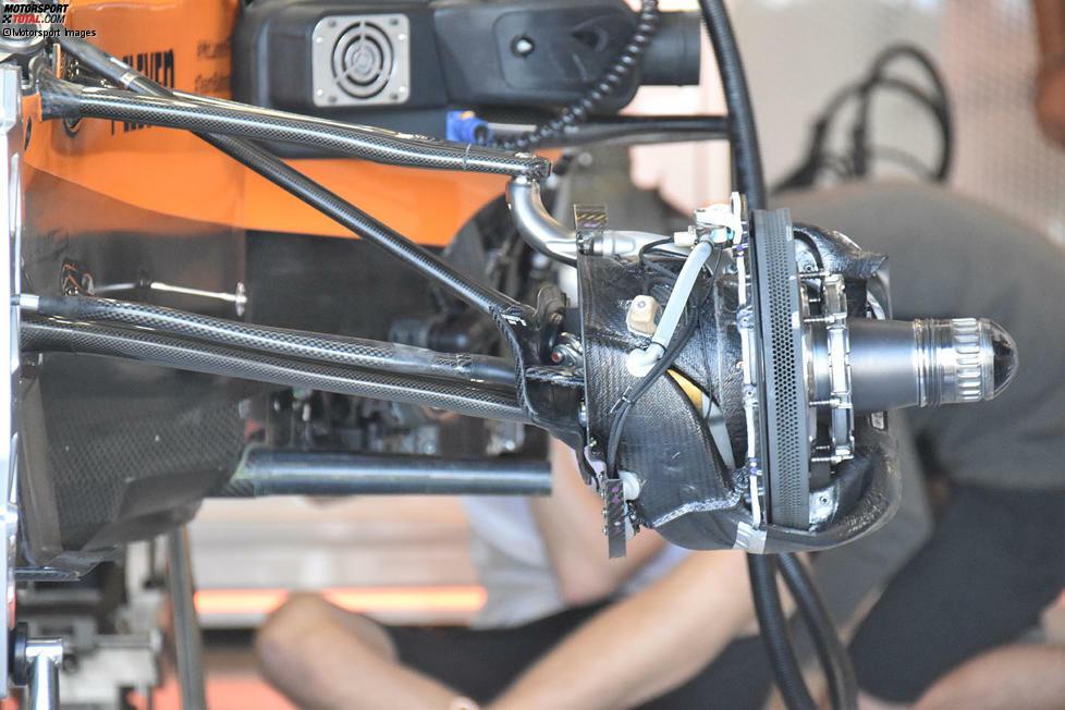 McLaren MCL34: Aufhängung vorne