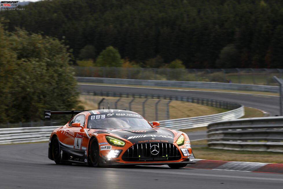1. Haupt-Mercedes #4 (Christodoulou/Engel/Stolz/Metzger)