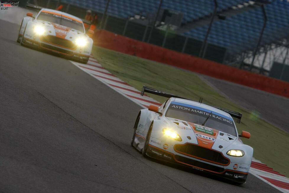 Im Jahr 2013 wird gleich groß aufgerüstet: Gleich fünf Vantages werden eingesetzt, drei davon in der GTE Pro. Mücke und Turner unterliegen in der Meisterschaft lediglich dem Ferrari von Gianmaria Bruni und Giancarlo Fisichella