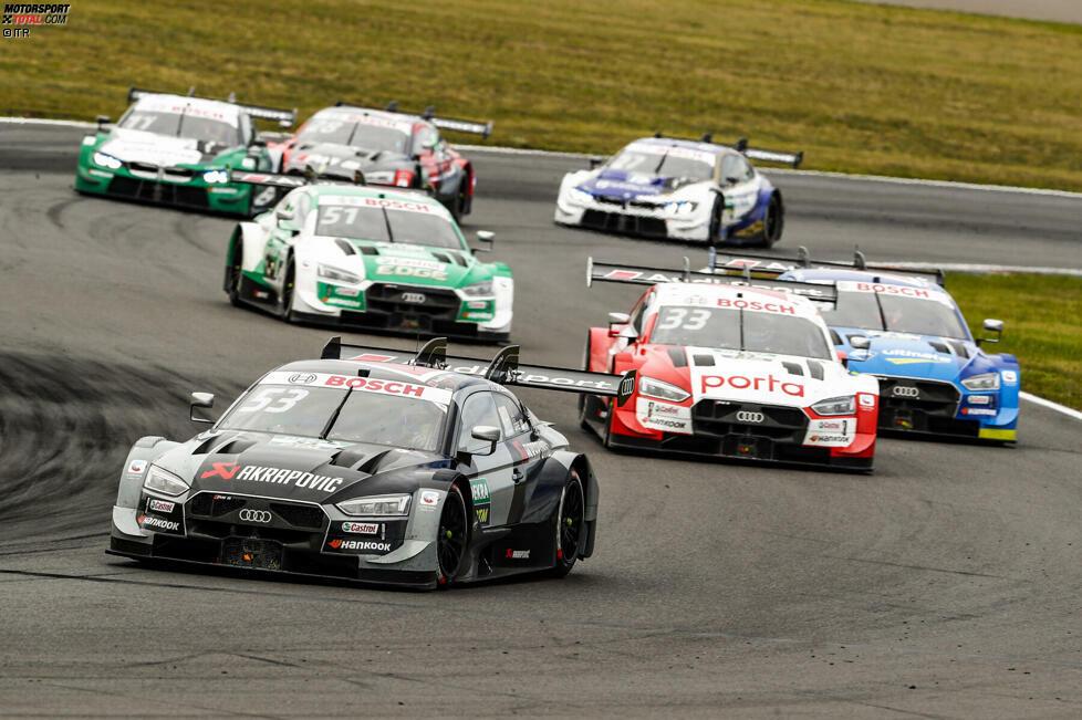 Dem Rekordvorsprung von 582 Punkten in der Saison 2019 folgte in der Herstellermeisterschaft 2020 mit 753 Punkten Vorsprung ein weiterer Bestwert. Bei acht Rennen holte Audi in den letzten beiden Jahren die maximal mögliche Punktzahl in der Herstellerwertung (76).