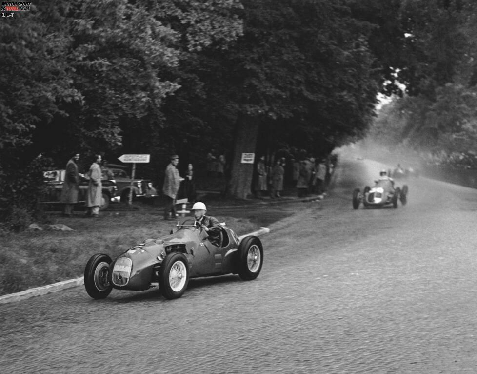 Bremgarten (1951-1952) - Die Strecke in Bern steht in den ersten fünf Jahren der Königsklasse im Kalender, bildet dabei zweimal den Saisonauftakt. 1954 findet dort auch das bis heute letzte Formel-1-Rennen in der Schweiz statt. Rundstreckenrennen werden dort anschließend verboten.