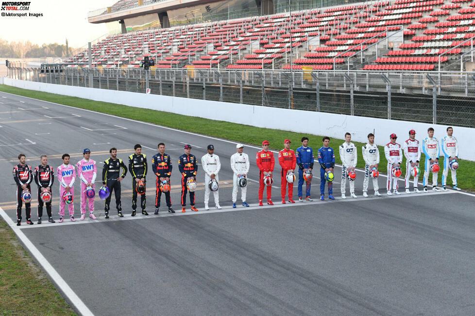 Wer in den zurückliegenden drei Saisons in der Formel 1 mindestens ein Rennen gefahren ist, kommt für eine neue Formel-1-Superlizenz in Frage. Das sind genau zehn Fahrer. Wir stellen sie in dieser Fotostrecke vor!