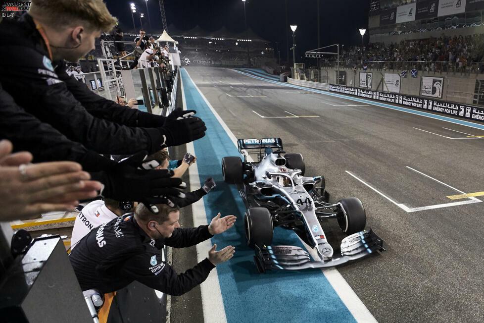1. Mercedes - Letzter Sieg: Großer Preis von Abu Dhabi 2019 mit Lewis Hamilton