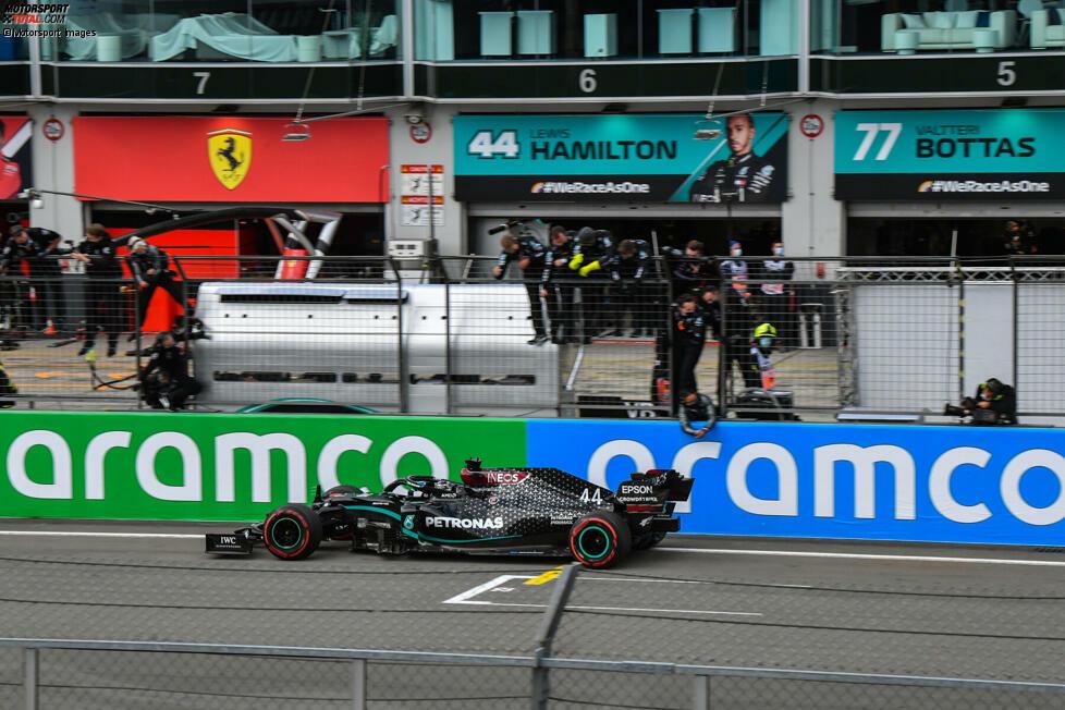 1. Mercedes - Letzter Sieg: Großer Preis der Eifel 2020 mit Lewis Hamilton