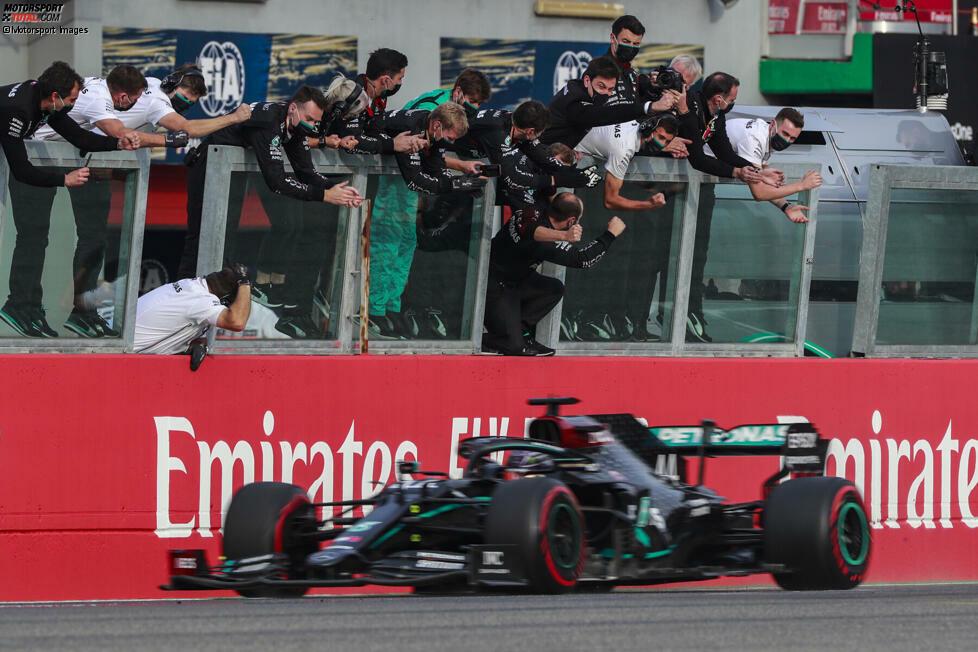 1. Mercedes - Letzter Sieg: Großer Preis der Türkei 2020 mit Lewis Hamilton