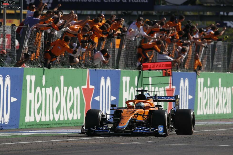 1. McLaren - Letzter Sieg: Großer Preis von Italien 2021 mit Daniel Ricciardo