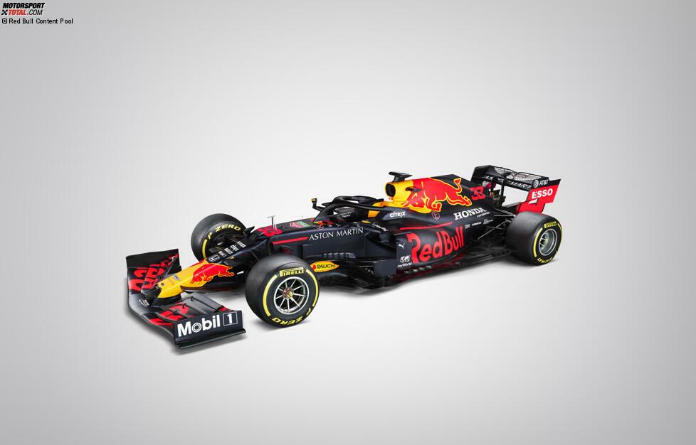 Der neue Red Bull RB16 ist da! Hier sind die ersten Fotos vom Neuwagen für Max Verstappen und Alexander Albon!