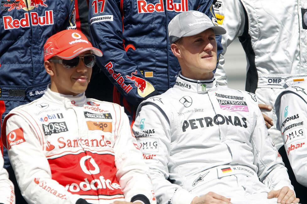 #0 Meiste WM-Titel: Lewis Hamilton besitzt 2020 die große Chance, seinen siebten WM-Titel einzufahren. Damit würde er mit Michael Schumacher zum erfolgreichsten Fahrer aller Zeiten aufsteigen. Genau genommen bricht er den Rekord damit nicht, sondern stellt ihn nur ein, aber was wäre eine Rekordliste ohne diesen Fakt?