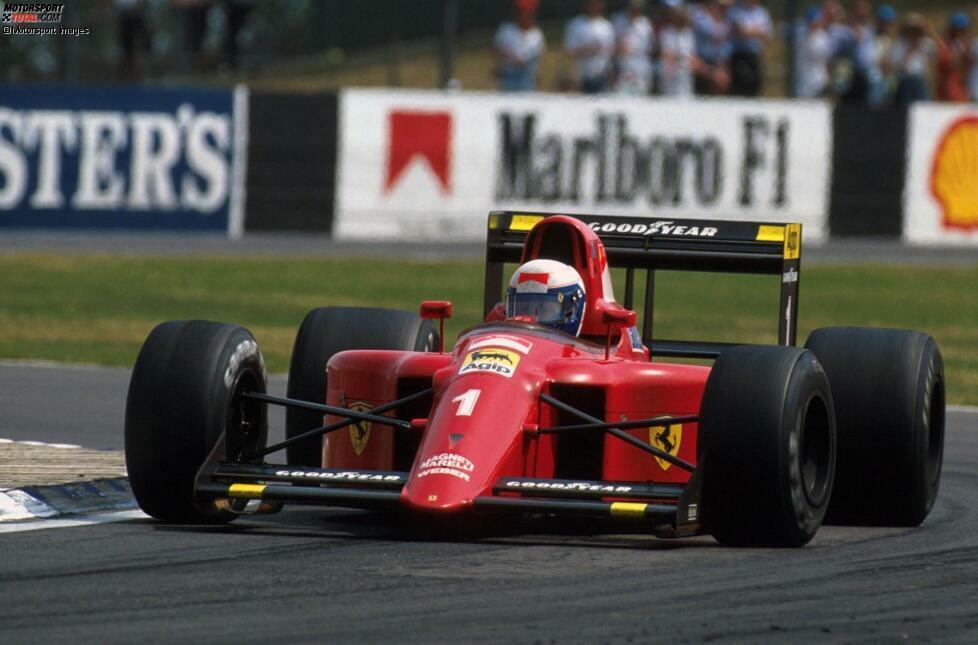 #1: Alain Prost (Ferrari): Als Weltmeister war der Franzose von McLaren zu Ferrari gegangen und hatte dort prompt einen Aufschwung eingeleitet. Mit drei Siegen zu Saisonmitte etablierte sich Prost als Titelkandidat, scheiterte dann aber an Ayrton Senna im McLaren und wurde Zweiter.