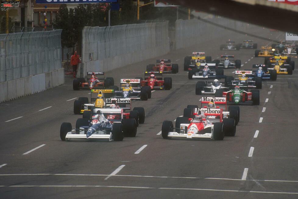 Der Start in die Formel-1-Saison 1990. 30 Jahre danach werfen wir einen Blick zurück auf Fahrer und Teams. Hier sind die Bilder von damals!