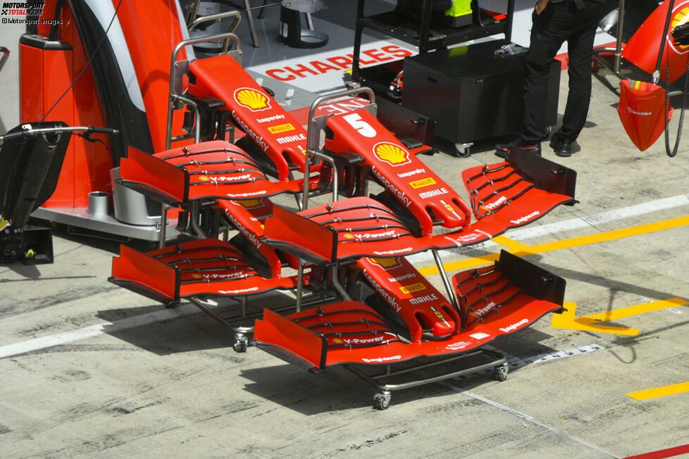 Ferrari SF1000: Frontflügel