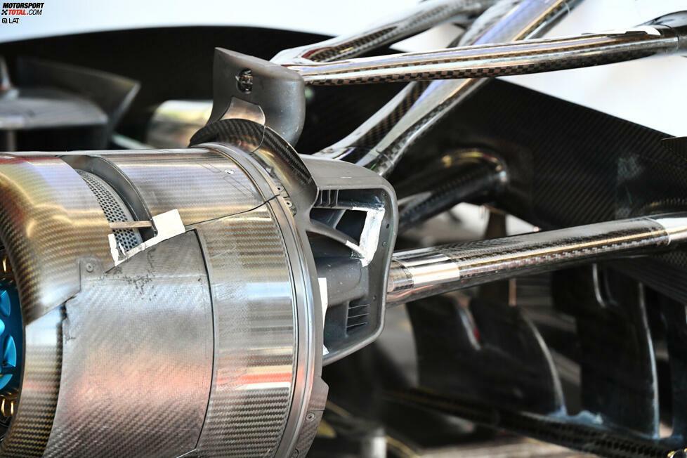 Die zweite Testwoche der Formel 1 in Barcelona ist vorbei. Natürlich haben die Teams wieder zahlreiche Neuerungen ausgepackt. Wir zeigen dir in unserer Fotostrecke, welche das sind: