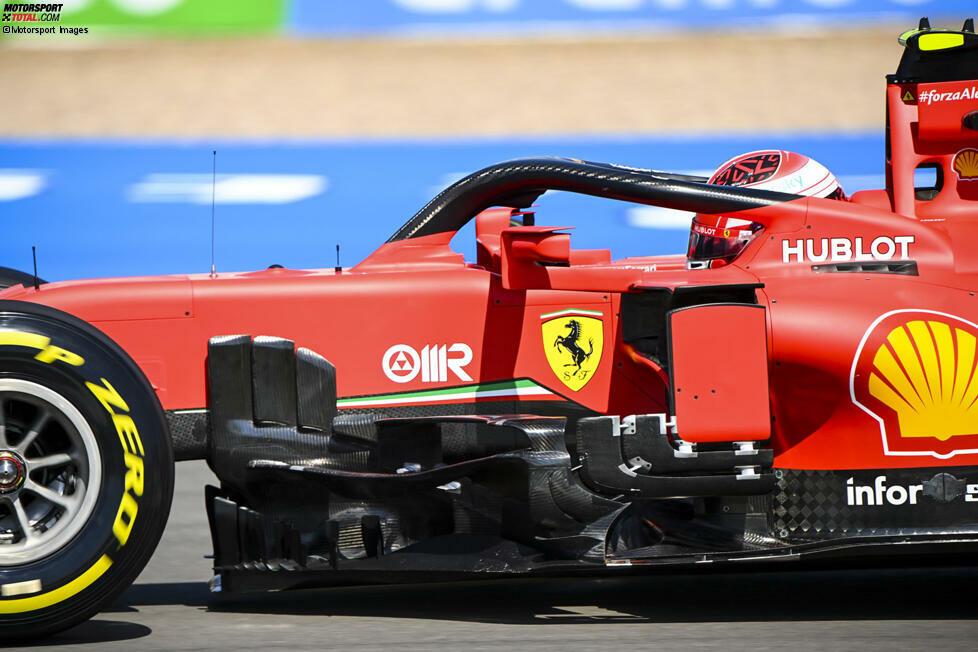 Ferrari SF1000: Windabweiser