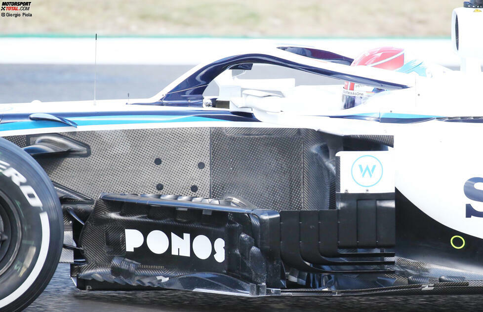 Williams FW43: Windabweiser